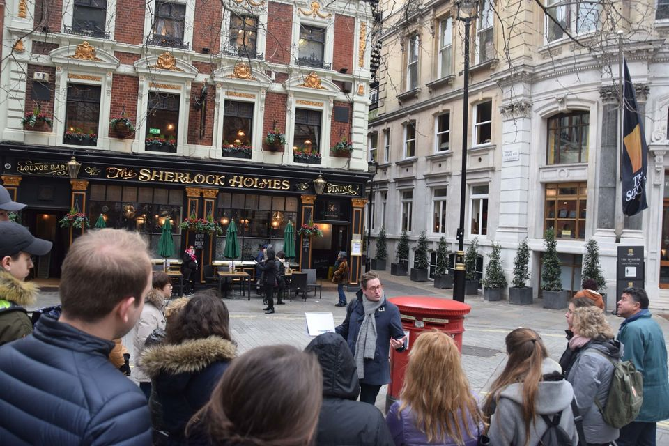 passeio sherlock Holmes em Londres