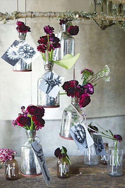 Con flores y plantas haz maravillas para las fiestas