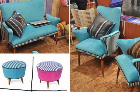 Propuestas de muebles estilo retro