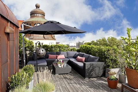 Una terraza para disfrutar