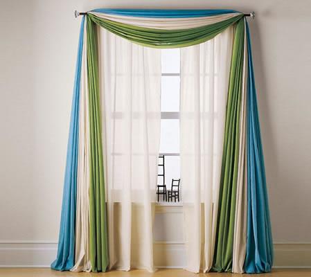 Las cortinas como complemento decorativo
