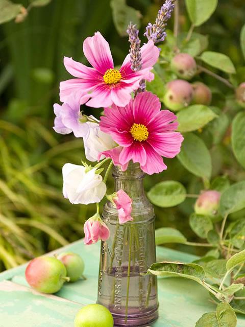 Centros de mesa con flores para el da de la madre