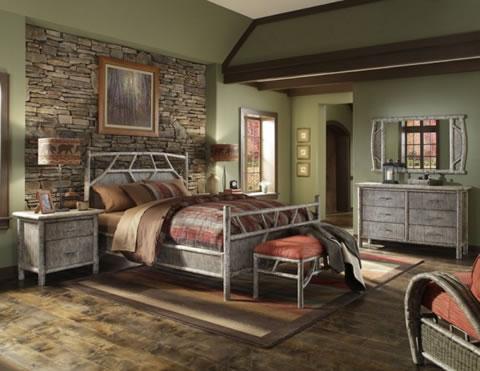 Ideas para decorar tu dormitorio con piedra