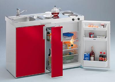 Mini cocinas para espacios muy pequeos
