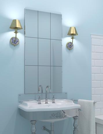 Cambiar el espejo del cuarto de bao