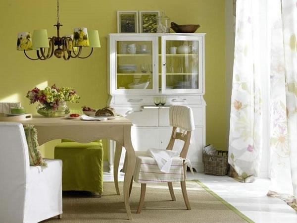 Comedor 8 ideas a todo color