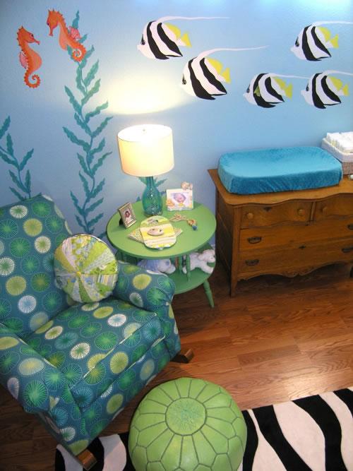 Una habitacin bajo el mar para bebs