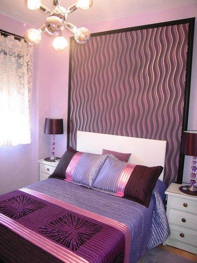Dormitorios con decoracin a rayas