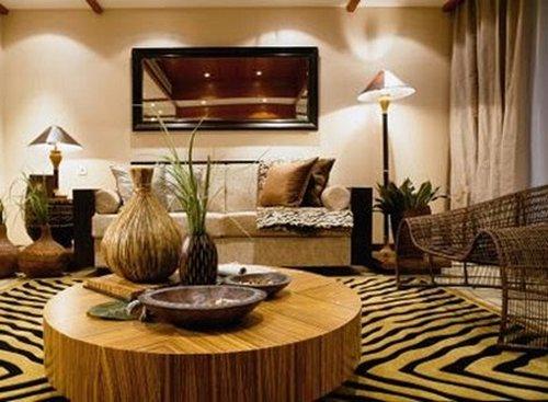 Safari Wall Decor Living Room