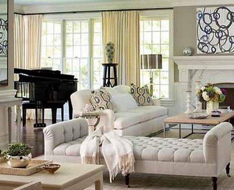 formal living room ideas with piano dresser in decorar con instrumentos musicales
