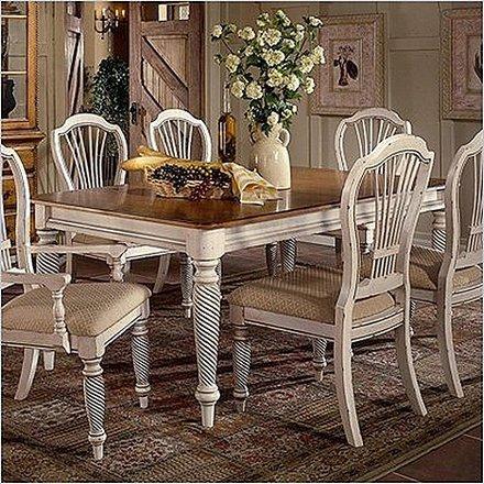 Mesas de desayuno en estilo rstico
