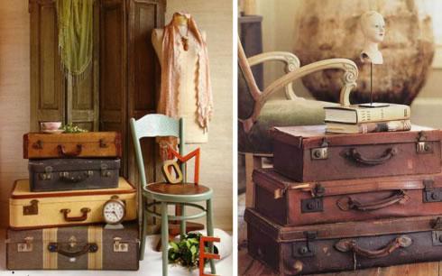 Decorar con objetos antiguos al estilo vintage