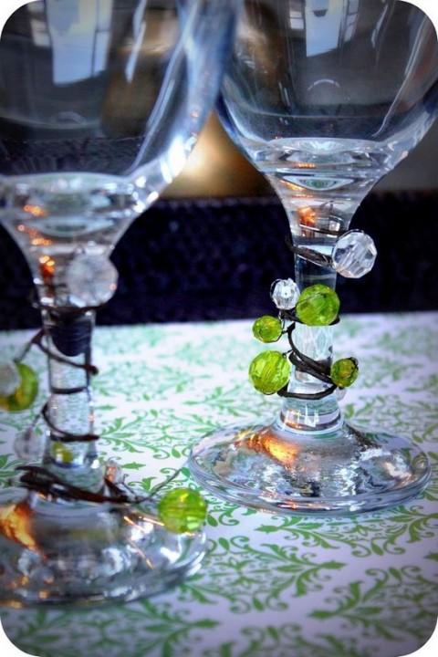 Otros usos para las copas de cristal