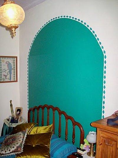 Pinta y dibuja las paredes