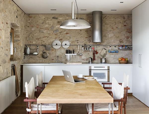 Las cocinas de estilo rstico