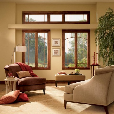 Pinta los marcos de puertas y ventanas