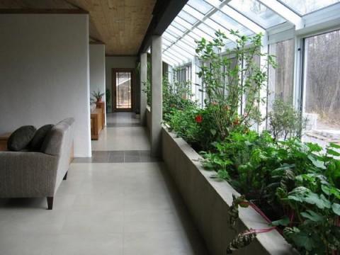 kitchen greenhouse window aid hand blender jardines de interior, una opción