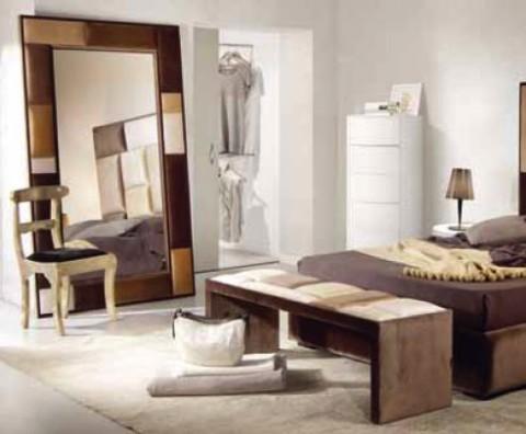 Propuestas para decorar la habitacin con espejos grandes