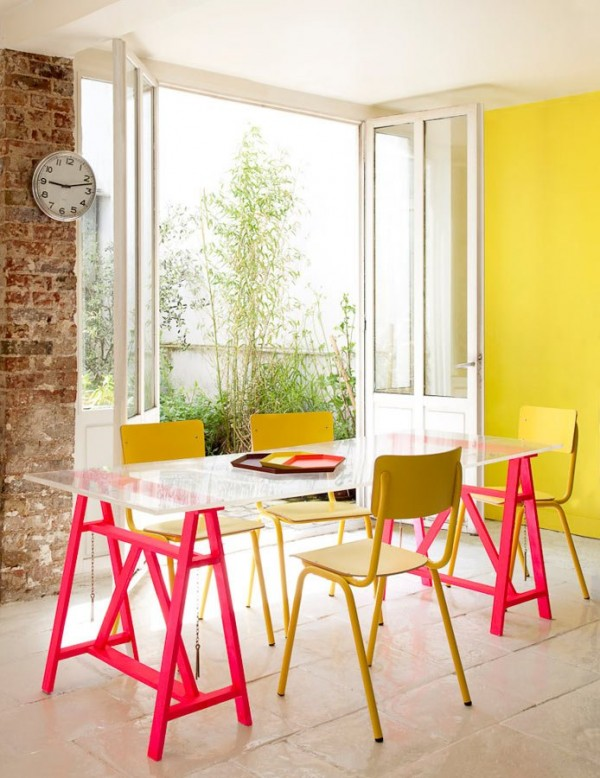 Mesas de caballetes para tu hogar