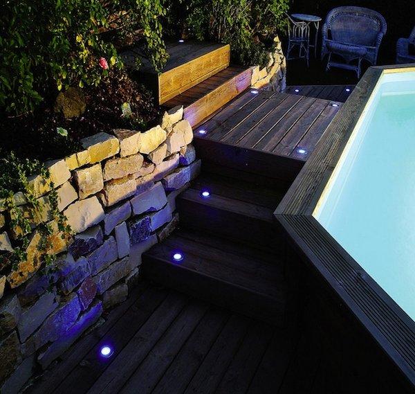 Luces LED para exteriores