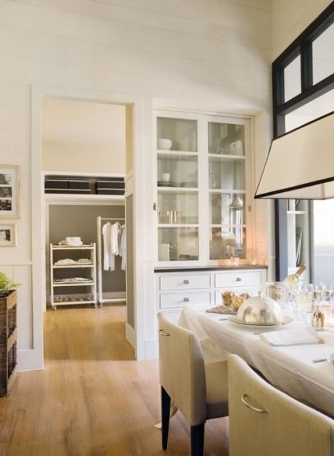 Cocina y comedor dos espacios en uno