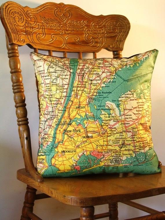 Anmate a decorar con mapas