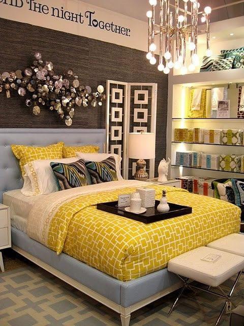 Detalles en amarillo para la habitacin