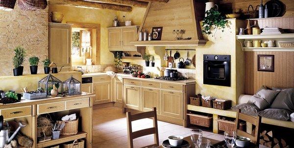 6 cocinas de estilo provenzal francs