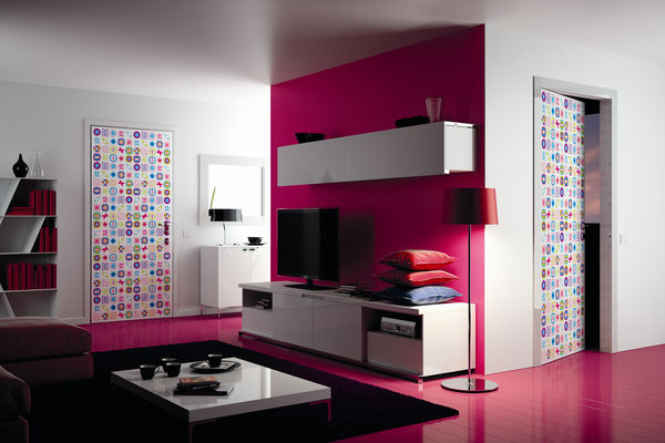 Coloridos suelos para la vivienda