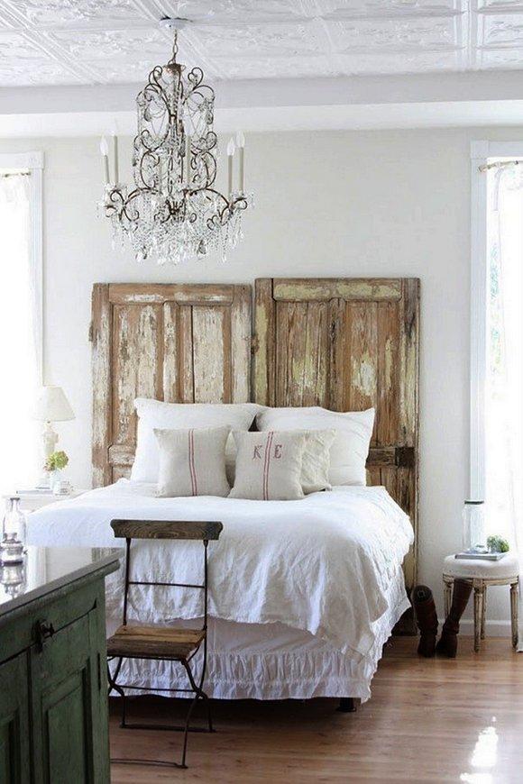 Puertas vintage para decorar interiores