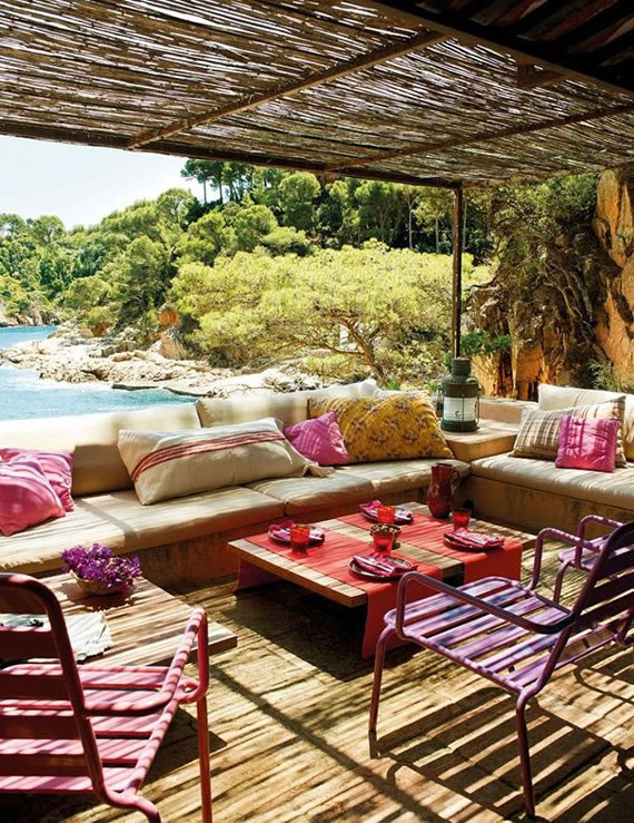 Patios y terrazas de estilo mediterrneo