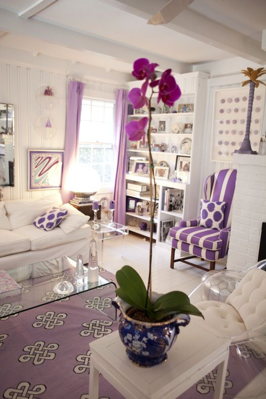 Ideas para decorar con el color lila