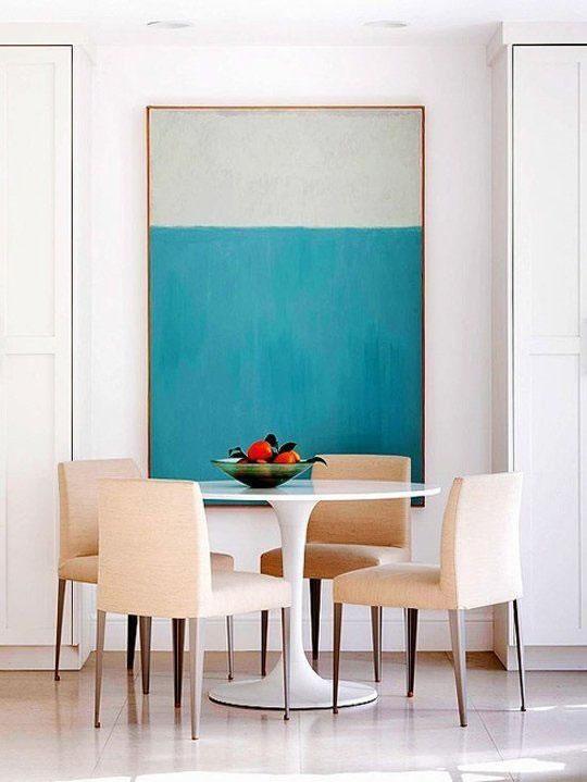 Haz de las sillas de comedor un objeto decorativo