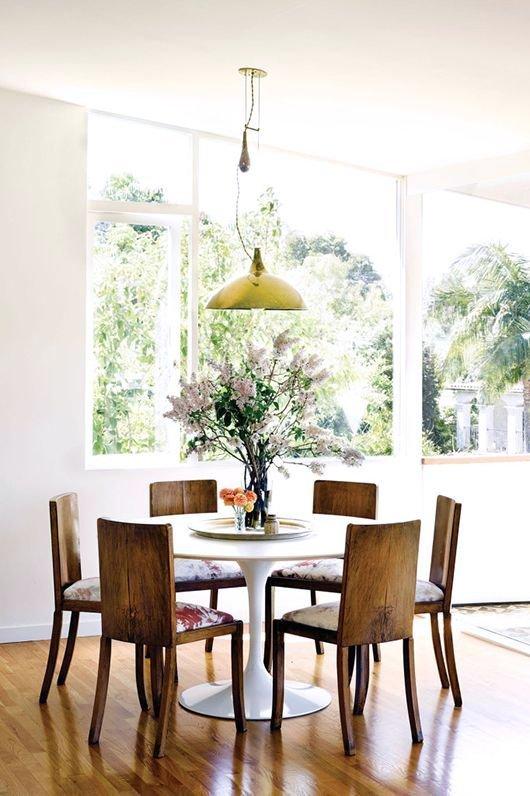 Cmo incorporar sillas antiguas a la decoracin moderna