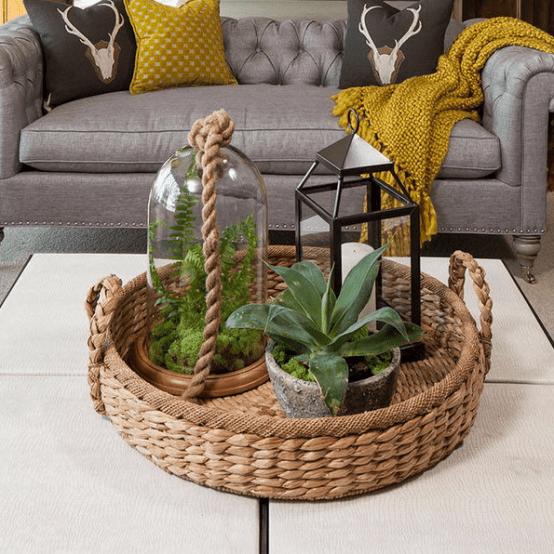 26 propuestas para decorar una mesa de centro