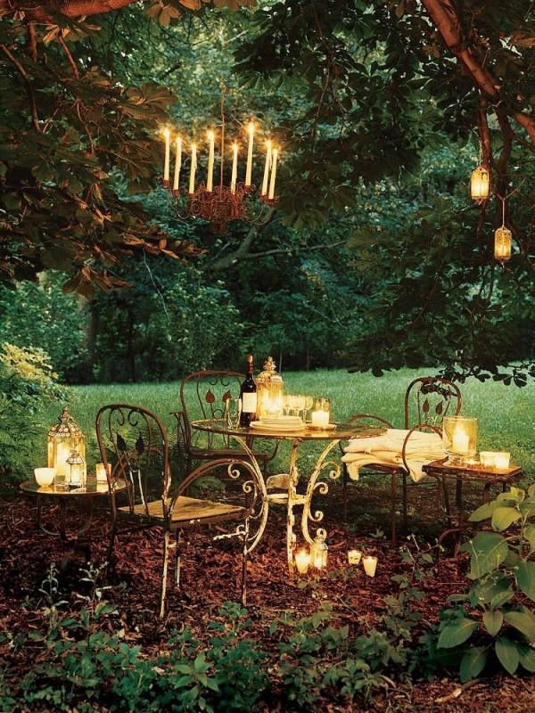 12 decoraciones con velas muy originales