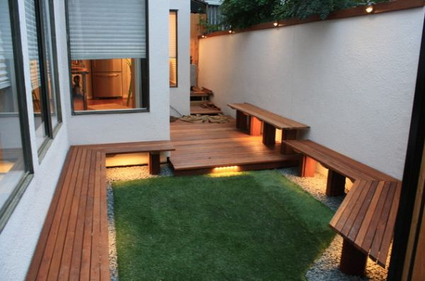 10 ideas para decorar un patio pequeo
