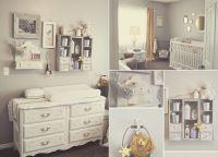 Estilo shabby chic para decorar habitaciones de bebs