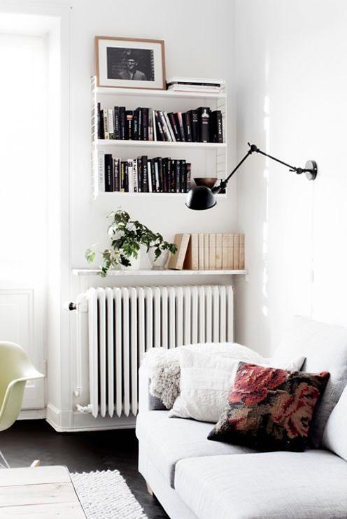 Ideas DIY para decorar los radiadores de la calefaccin