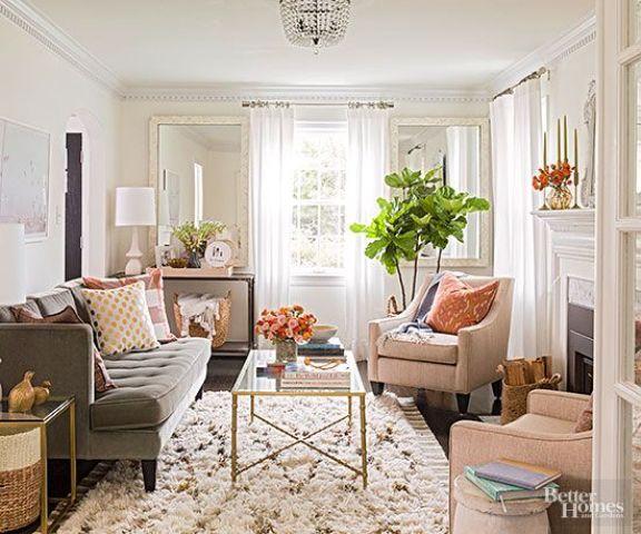 Ideas para decorar una pequea sala de estar