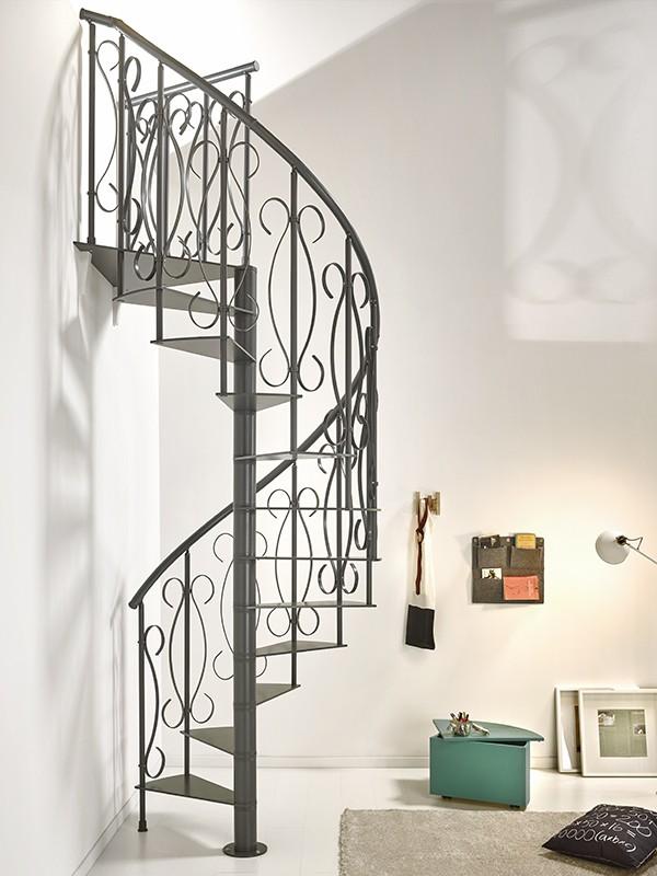 Ideas para decorar tu casa con una escalera de caracol