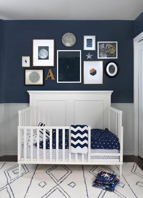 Ideas para decorar las paredes de la habitacin del beb