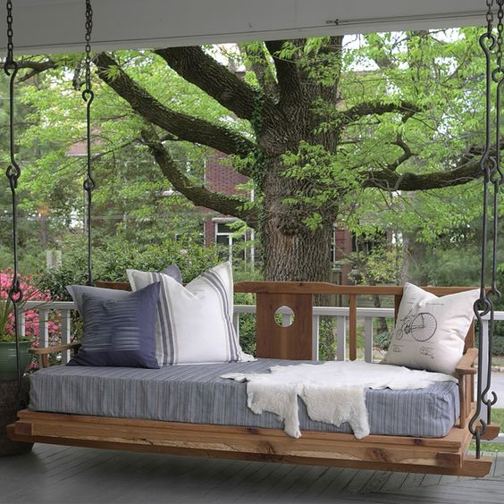 20 camas colgantes de interior y de exterior