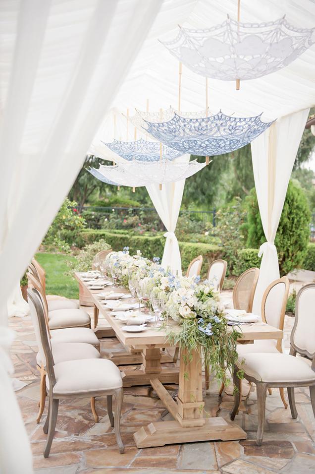 Cmo decorar la mesa para una fiesta al aire libre