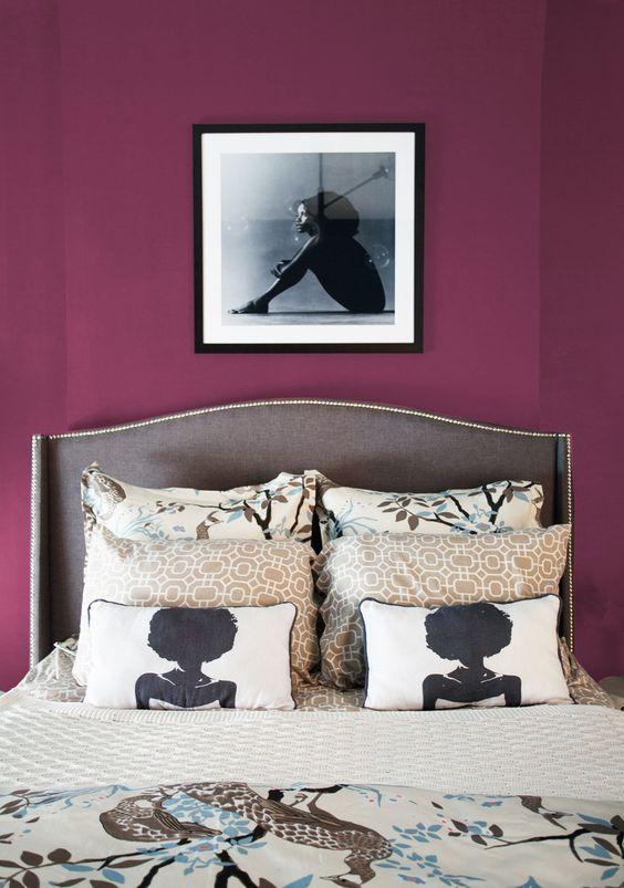 Ideas para decorar tu casa en color morado