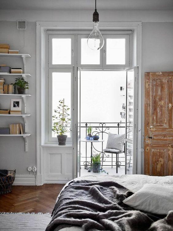 Haz de las puertas balconeras un objeto ms para decorar