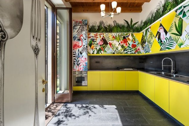 8 habitaciones en color amarillo que te conquistarn