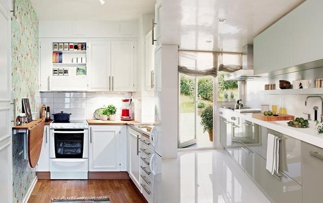 Consejos para decorar una cocina pequea alargada