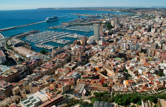 images de la ville de Alicante