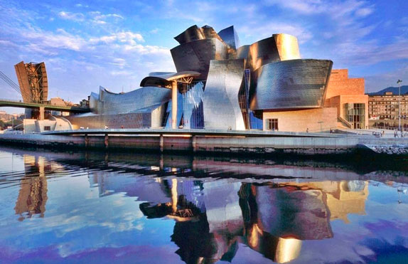 images of the city of Bilbao